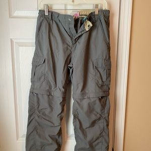 REI youth zip off hiking pant